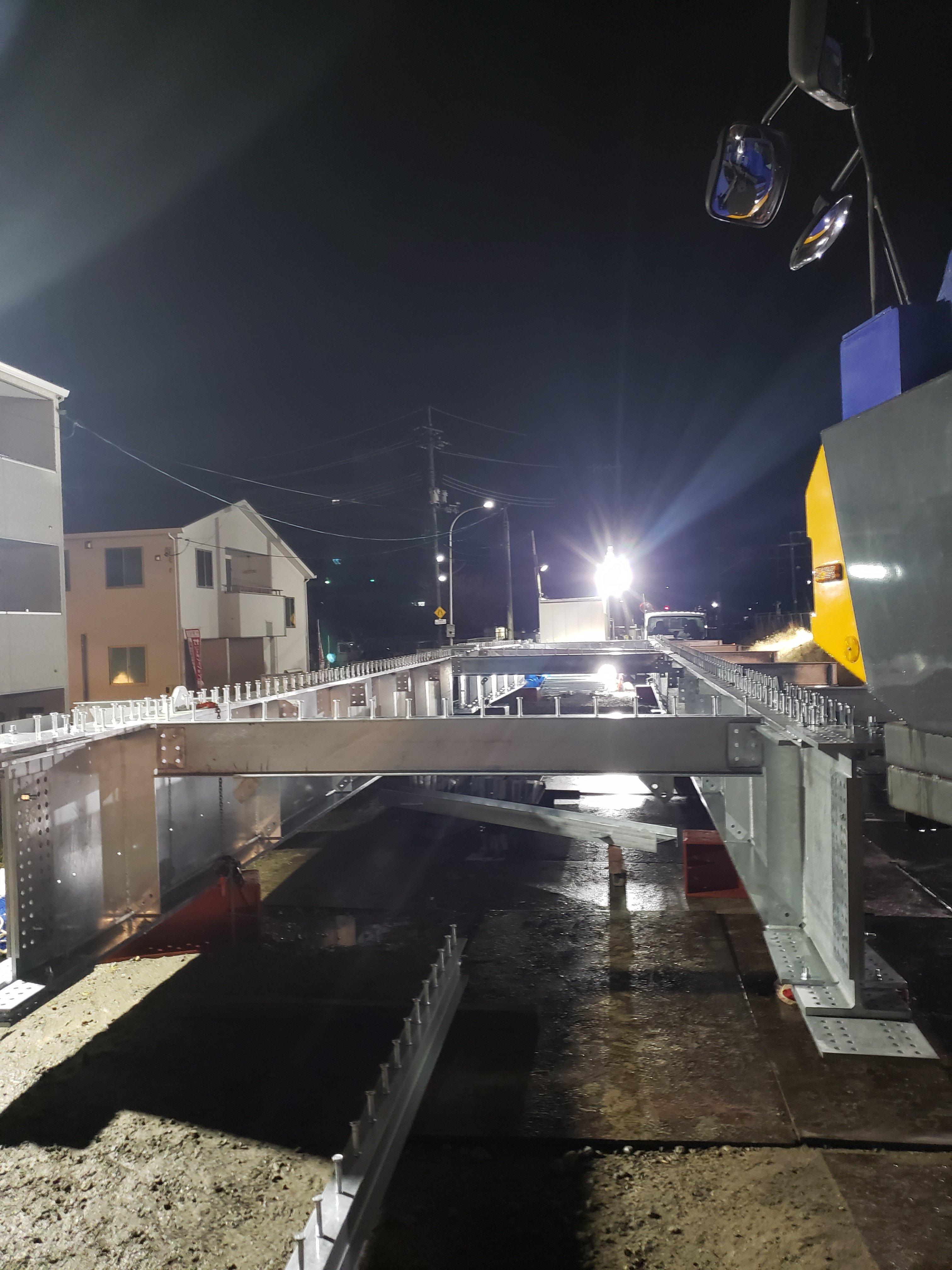 中野駅夜勤建て方
